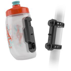 Fidlock Twist Drinking Bottle 450ml incl. Uni Base Mount orange/blue